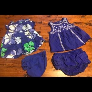 Other - *FOUR* Baby Girl Dresses ❤️